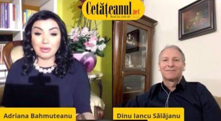 """VIDEO: Adriana Bahmuțeanu l-a prezentat pe Dinu Iancu drept """"președintele Consiliului Județean Zalău"""""""
