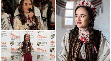 Mădălina Sabou, tânăra speranță a muzicii folclorice care promovează tradițiile sălăjene
