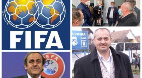 Cine este sălăjeanul care l-a vizitat pe Michel Platini la UEFA, dar a ajuns și în biroul președintelui FIFA