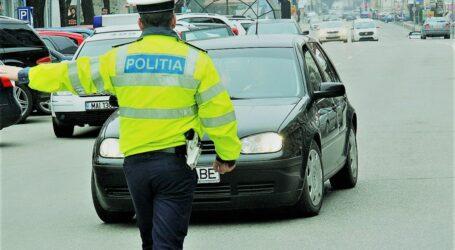 Poliția a dat 80 de amenzi în doar 6 ore la șoferii sălăjeni