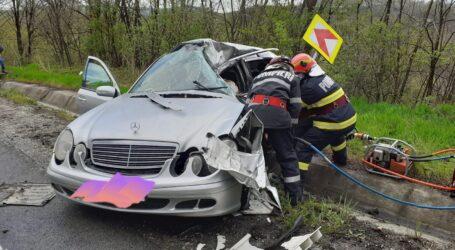 Un tânăr de 27 de ani a murit într-un grav accident în Ileanda