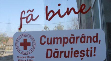 Crucea Roșie a deschis un magazin UMANITAR în Zalău