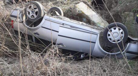 FOTO. Un tânăr este în stare GRAVĂ în urma unui accident în comuna Gârbou