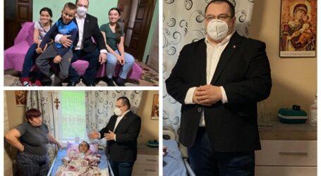 VIDEO. Cristian Terheș se implică activ pentru a salva viața copilului din Cristolț aflat în comă, dar trimis acasă din spital