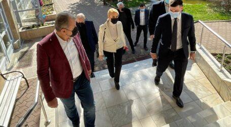 Gabriela Firea și Marcel Ciolacu au vizitat orașul Jibou