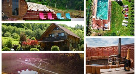 5 cabane INEDITE din Sălaj unde să te distrezi în această vară