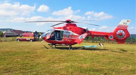 ULTIMA ORĂ! Accident grav în comuna Gârbou. Intervine elicopterul SMURD