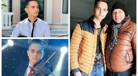 VIDEO. Povestea unui tânăr violonist din Zalău care face SENZAȚIE în muzica de petrecere din România