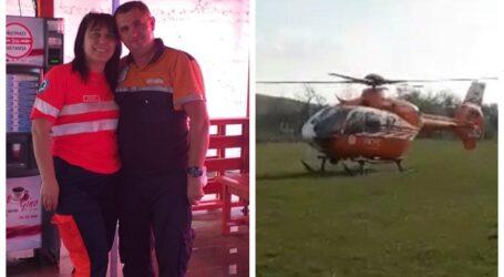 Eroii zilei sunt două cadre medicale de la Ambulanța Sălaj care au avut o intervenție contra cronometru în satul Agrij