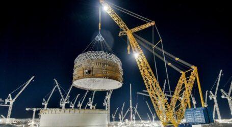Cea mai mare macara din lume, realizată cu țevi produse de Tenaris, gigantul industrial din Zalău