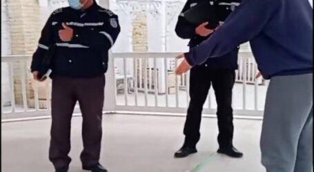 VIDEO. Un grup de tineri din Zalău, sancționați pentru că nu au purtat mască în timp ce făceau sport în Parcul Central
