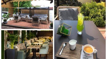 S-a redeschis una dintre cele mai de lux terase din Zalău – Grădina de Vară de la Briliant