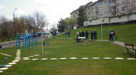 3 parcuri noi în Zalău. Primăria a făcut ieri recepția lucrărilor