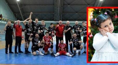 După victoria cu campioana României, voleibaliștii de la SCM Zalău au făcut chetă și și-au DONAT prima de joc pentru Natalia