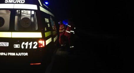Accident cu patru victime în Sărmășag