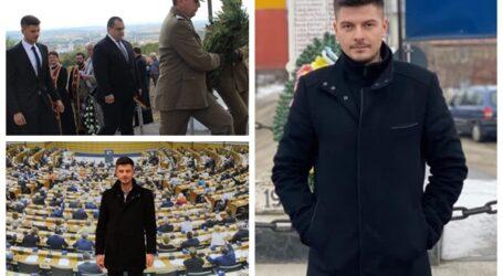 Un tânăr plecat de mic dintr-un sat din Sălaj peste hotare și-a îndeplinit visul: să muncească în Parlamentul European pentru România