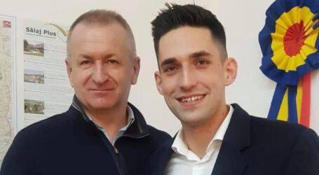 Dumitru Blaga îl susține pe Cristian Lazăr în cursa electorală pentru funcția de primar al orașului Șimleu Silvaniei