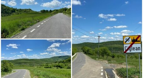 A fost asfaltat drumul cu unele dintre cele mai spectaculoase peisaje din Sălaj