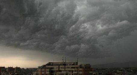 Cod PORTOCALIU de furtună și grindină în întreg județul Sălaj. Prefectura a luat mai multe măsuri