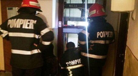 Un copil din Zalău a rămas blocat într-un lift chiar în ziua de Paște