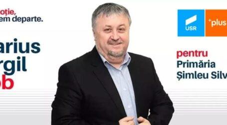 Marius Virgil Bob, candidatul USR la Primăria Șimleu Silvaniei