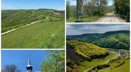 Satul din Sălaj cu cele mai SPECTACULOASE peisaje din județ