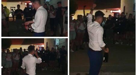 VIDEO. Cum au sărbătorit ieri noapte PNL-iștii victoria lui Lazăr de la Șimleu
