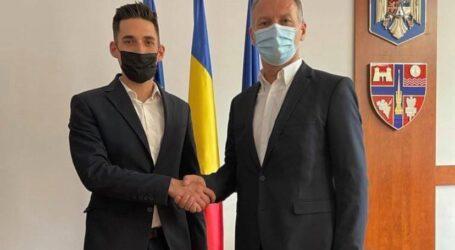 Parteneriat pentru Șimleu Silvaniei încheiat între Dinu Iancu Sălăjanu și Cristian Lazăr