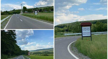 Sălajul are o nouă legătură rutieră cu județul Bihor