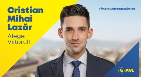 PSD-iștii au contestat afișul electoral al tânărului Cristian Lazăr, candidatul PNL la Șimleu Silvaniei