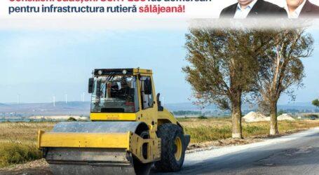 Infrastructura rutieră sălăjeană reprezintă o prioritate pentru consilierii județeni ai USR