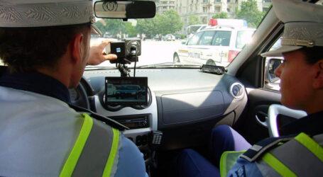 Un șofer a fost prins cu 200 km/h la ieșire din Șimleu Silvaniei