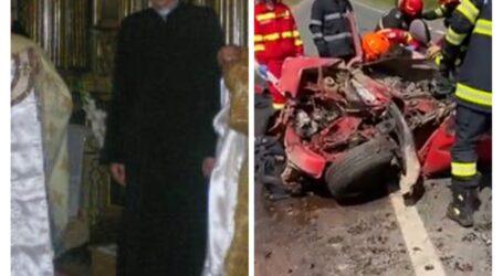 VIDEO. Preotul greco-catolic din Sălăjeni, mort într-un cumplit accident rutier