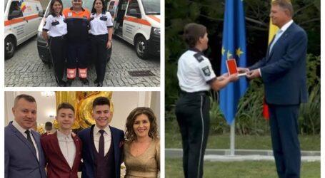 VIDEO. O asistentă medicală de la Ambulanța Sălaj, decorată de președintele Klaus Iohannis