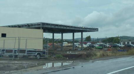 La ieșirea din Zalău spre Hereclean se construiesc 3 benzinării