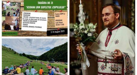 Un preot din Sălaj organizează o TABĂRĂ inedită pentru zeci de copii