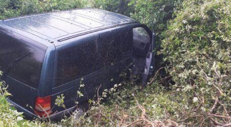 Accident în localitatea Glod, pe drumul spre Dej