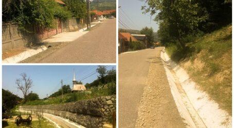 Primăria Jibou a modernizat rețeaua pluvială din satele Var și Cuceu