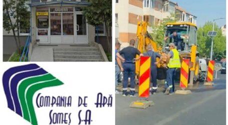 Reacția OFICIALĂ a Companiei de Apă, după avaria din cartierul zălăuan Brădet