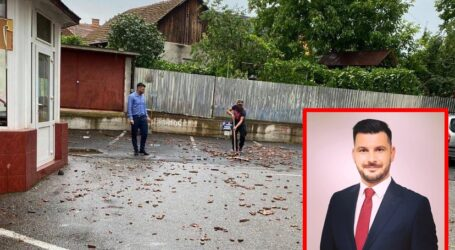 Vlad Pașcalău, un viceprimar implicat activ în viața comunității. Cum a ajutat populația să înlăture efectele negative produse de furtună