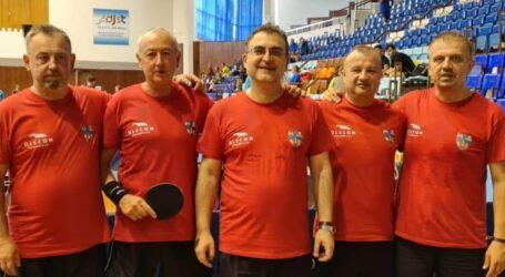 5 sportivi au reprezentat județul Sălaj la un important concurs național de tenis de masă între județe