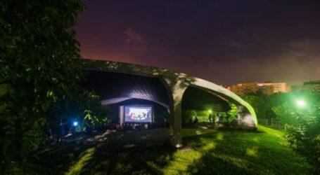 Proiecție specială de film în Parcul Central din Zalău