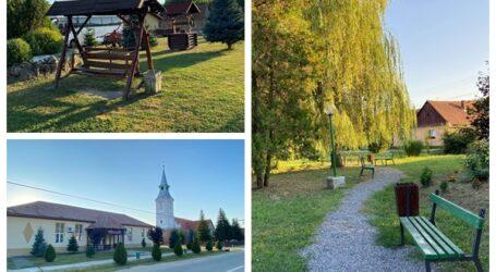 Cum arată cea mai verde comună din Sălaj – au fost amenajate numeroase parcuri și locuri de joacă pentru copii