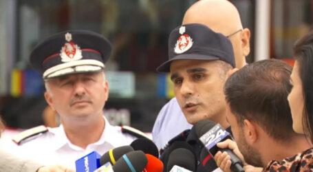 VIDEO. Un colonel din Jibou este comandantul pompierilor din România care sprijină Grecia în lupta cu incendiile