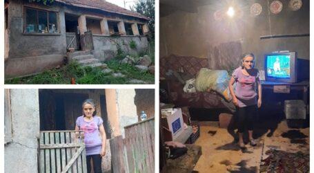 Destinul trist al unei femei din comuna Bobota: grav bolnavă, trăiește cu doar 370 de lei pe lună în condiții inumane