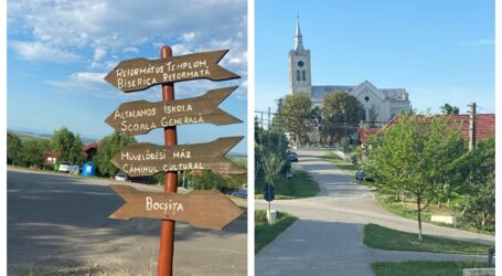 """Cum arată """"satul labirint"""" din Sălaj – în micuța localitate sunt peste 25 de intersecții, cele mai multe din județ"""