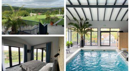 Aici faci baie în Paradis! Am găsit cea mai frumoasă pensiune cu piscină interioară din Sălaj