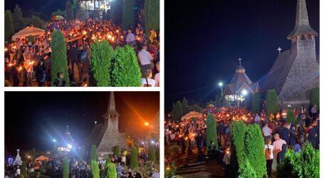 VIDEO. Imagini EMOȚIONANTE de la Mănăstirea Bic. Peste 1.000 de persoane au participat la ceremonialul religios