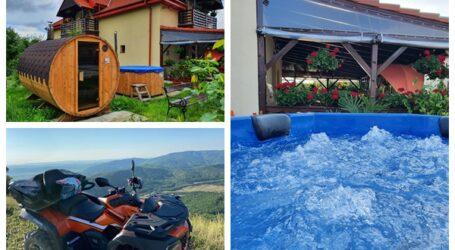 Cea mai tare experiență de vacanță pe care o poți încerca, vara asta, în Sălaj. Pensiune de vis cu ciubăr, ATV, tiroliană