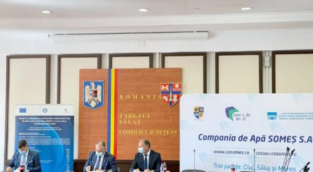 Demarează lucrările din județul Sălaj la cea mai lungă aducțiune de apă potabilă din România